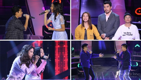 PICTURES! Here's what happened at Day 4 of Battle Rounds | The Voice Teens 2020