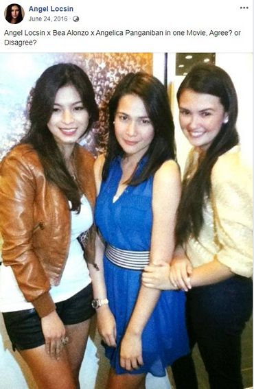 Bea Alonzo and Angelica Panganiban's friendship