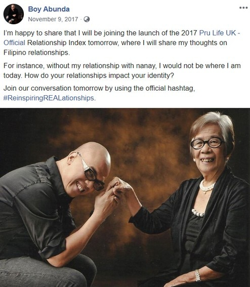 Tito Boy's moments with his mother