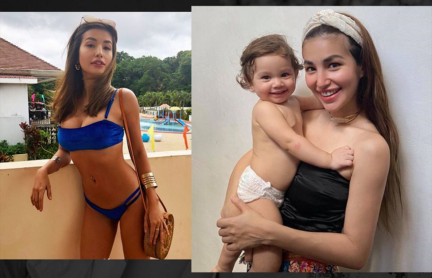 IN PHOTOS: How motherhood changed this sexy Filipina actress