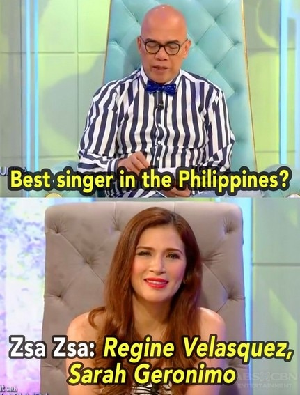 27 Times celebrities mentioned Sarah Geronimo on TWBA!