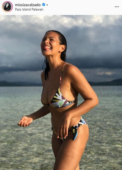 Be inspired by Iza Calzado's body positivity as she embraces her beautiful imperfections in these photos!