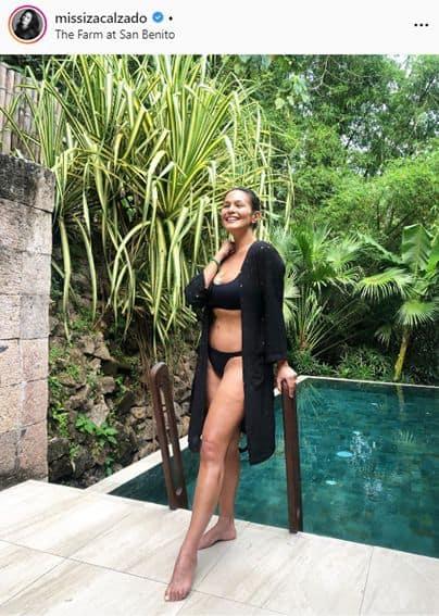 Iza Calzado's body positivity