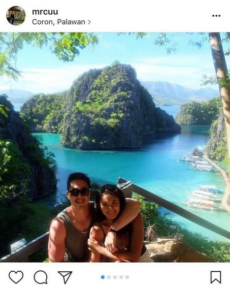 Yam Concepcion and her boyfriend