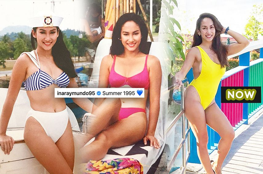 THEN AND NOW: 15 Stunning photos of Ina Raymundo that proved she's been drinking from the fountain of youth!