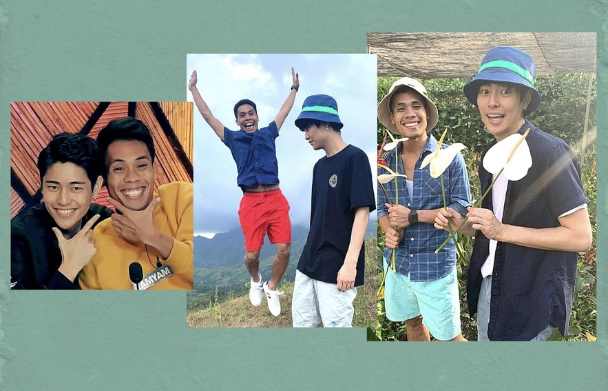 friendship of Fumiya and Yamyam after PBB