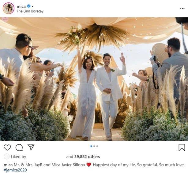 Mica and Jay R beach wedding photos