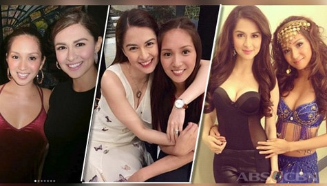 Here are some BFF Photos of Roxanne Barcelo and Marian Rivera!