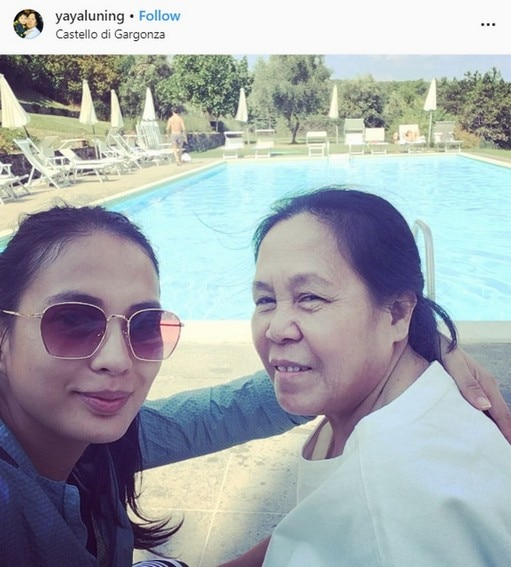 LOOK: Isabelle Daza's moments with her adorable nanny and second mom Yaya Luning!