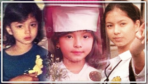 angel locsin childhood throwback photos