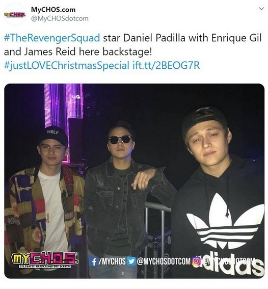 LOOK: 16 Photos of Daniel Padilla and James Reid's rare moments together!