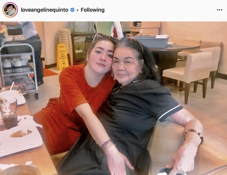 45 Photos of Angeline Quinto as a doting and selfless daughter