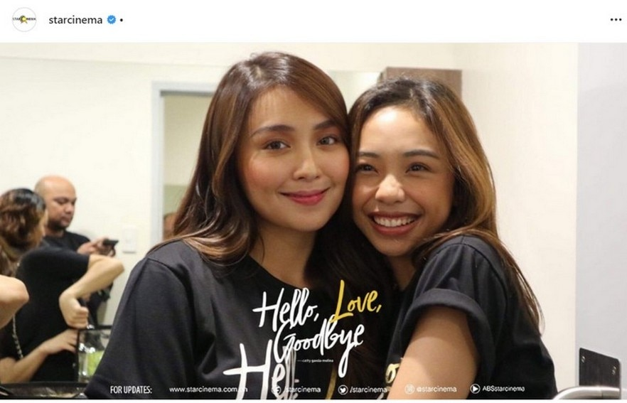 Fan girl goals! Take a look at Maymay's photos that captured her blossoming friendship with Kathryn!