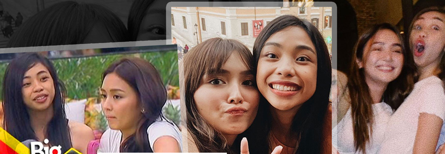 IN PHOTOS: The unexpected friendship of Maymay Entrata and Kathryn Bernardo
