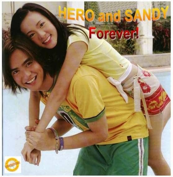Hero Angeles and Sandara Park's Throwback