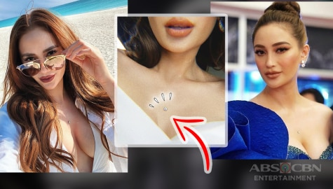 Check out these photos of Arci Munoz's pierced chest!