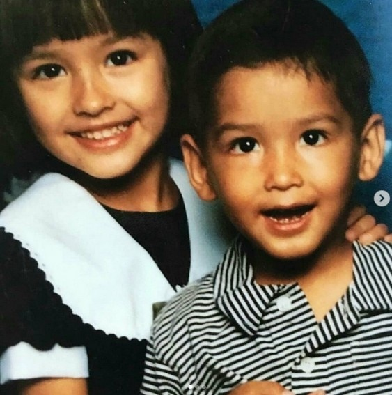 Photos of Liza Soberano's treasured moments with her younger brother