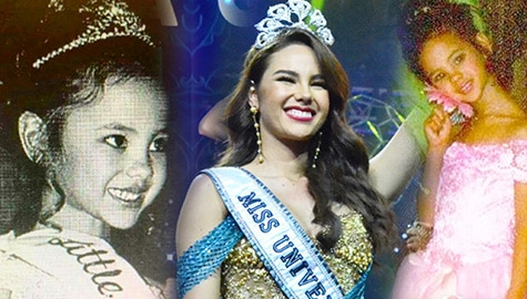 LOOK: Throwback photos of Miss Universe 2018 Catriona Gray