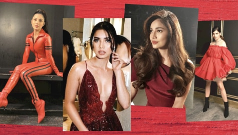 She's ready to fly! Check out Jane De Leon serving fiery looks in red OOTDs