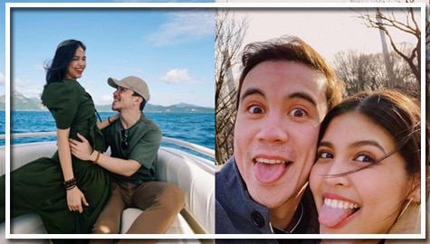 "The Maine Girl! Arjo Atayde with his one and only ""Babs"""