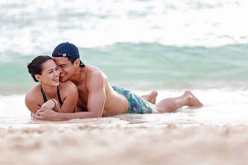 LOOK: Lara and Marco's sweet photos show us what their decade of marriage looks like!