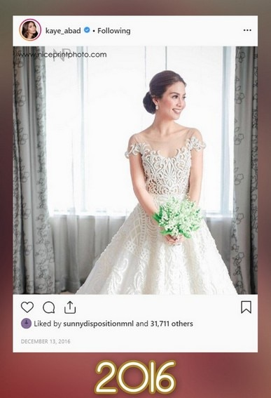 Kaye Abad's then-and-now photos