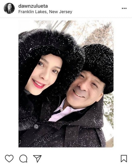 IN PHOTOS: Dawn Zulueta with her loving husband of 22 Years