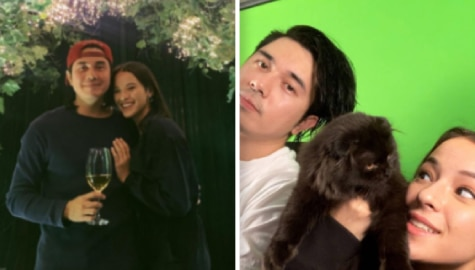Paulo Avelino with his girlfriend Jodie Tarasek
