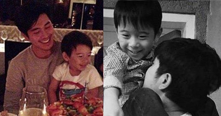 "IN PHOTOS: Paulo Avelino with his adorable ""mini-me"""