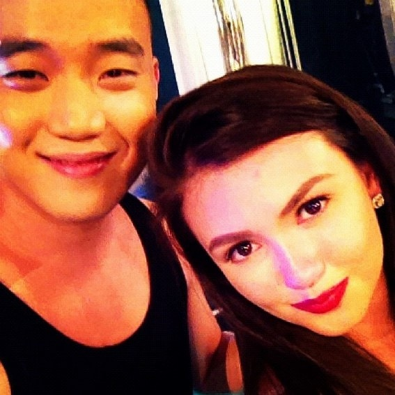 Photos of Angelica Panganiban with her best friend Ryan Bang
