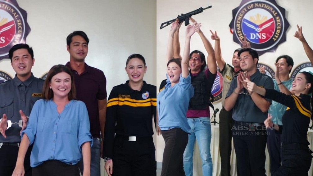 Behind-the-scene photos on the set of Walang Hanggang Paalam that will make you miss the cast even more!