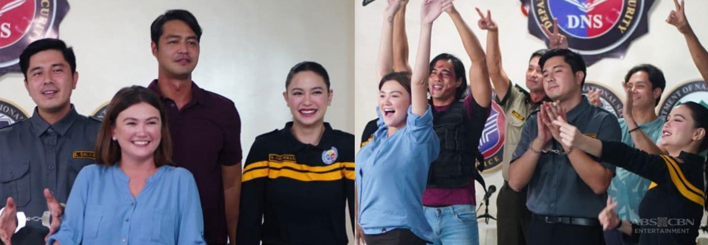 "LOOK: Never-Before-Seen Photos from the set of ""Walang Hanggang Paalam"""
