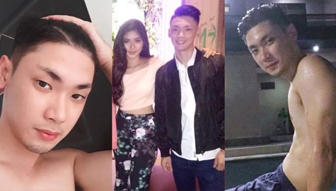 Photos of Loisa Andalio with her brother Louis