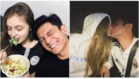 14 photos of Joseph Marco with her Russian girlfriend Darja Romanova
