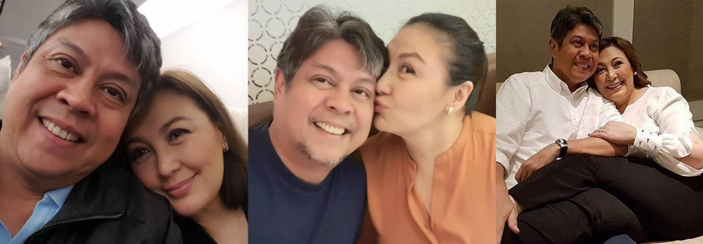 Sharon Cuneta with her husband Kiko Pangilinan