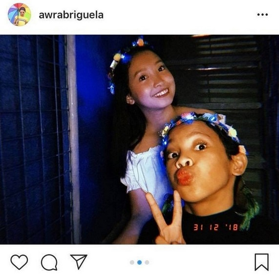 Awra Briguela with his picture-perfect family