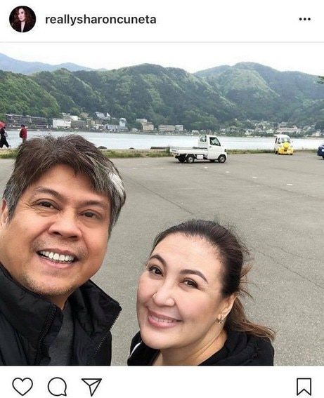 "IN PHOTOS: Sharon Cuneta with her  loving ""Sutart"" of 26 years"