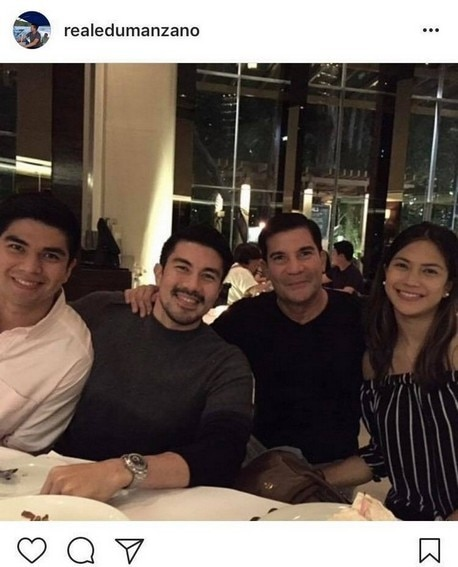 IN PHOTOS: Luis Manzano with his equally attractive siblings