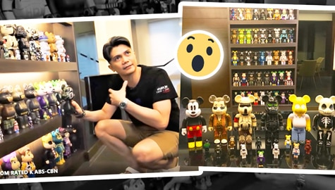 Toy collection ni Vhong Navarro