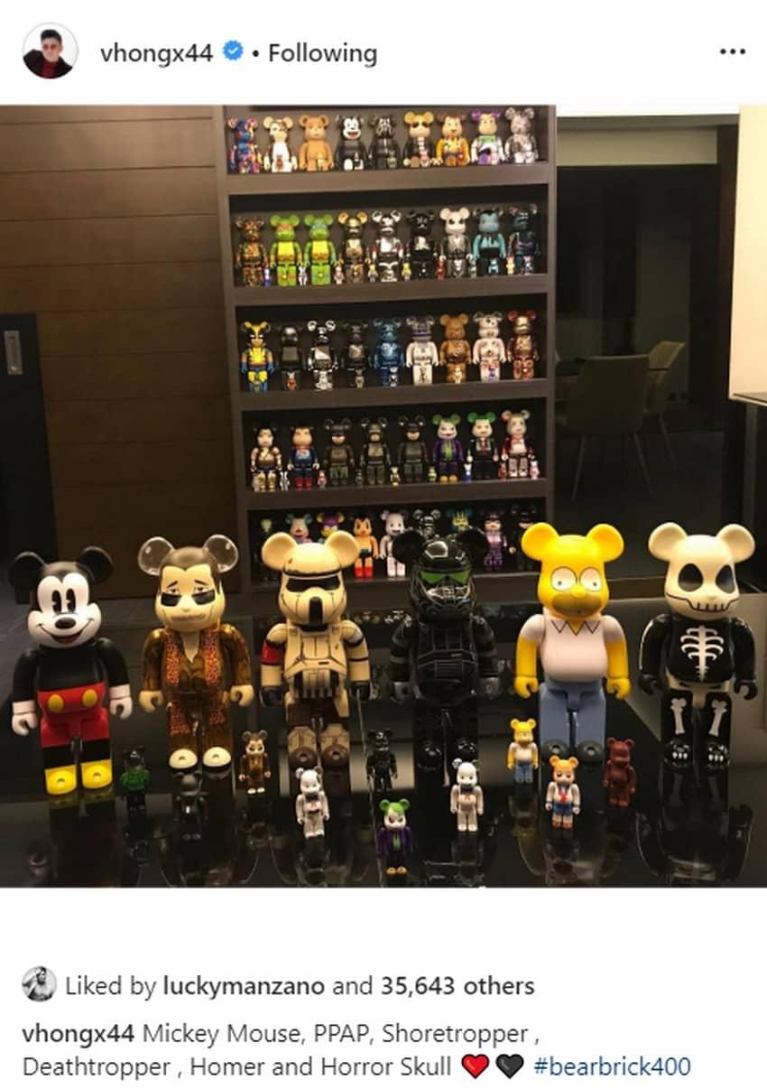 Toy collection ni Vhong Navarro