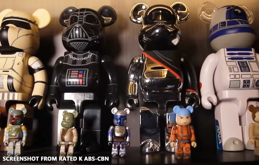 Vhong Navarro's expensive toy collection