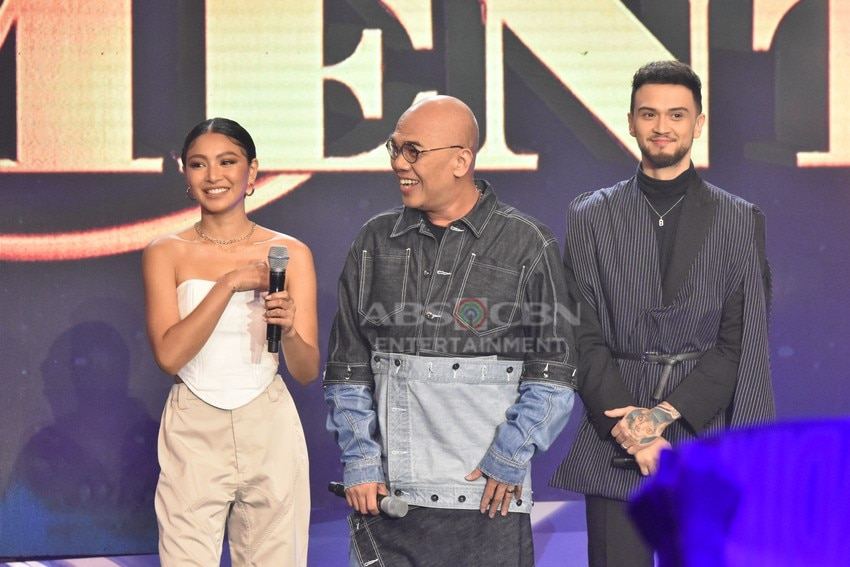 Your Moment Grand Moment Boy Abunda, Billy Crawford and Nadine Lustre
