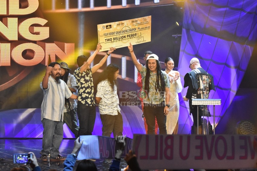 Your Grand Moment: Juan Gapang was hailed as the Grand Singing Champion