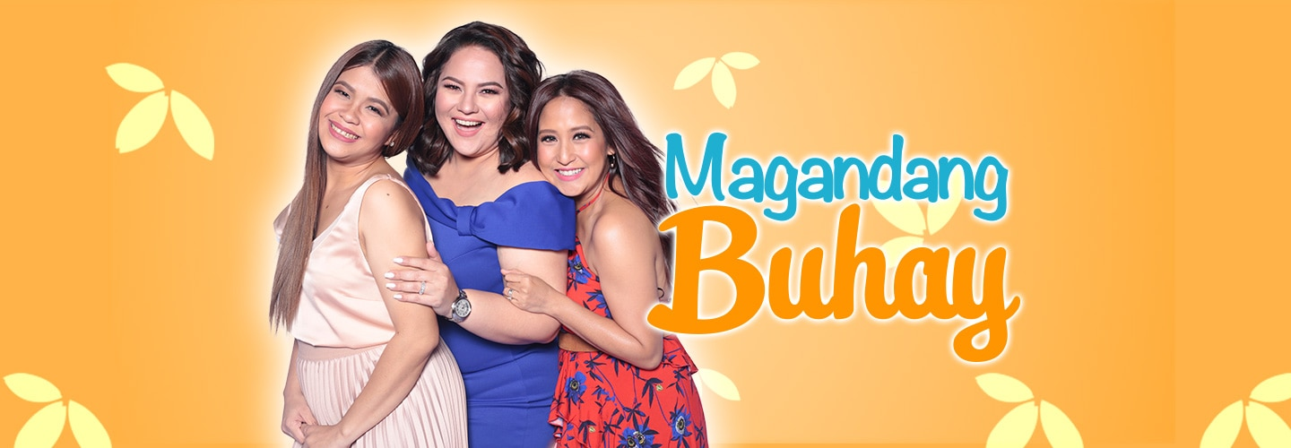 PHOTOS: Magandang Buhay with Anthony Taberna and Giselle Sanchez