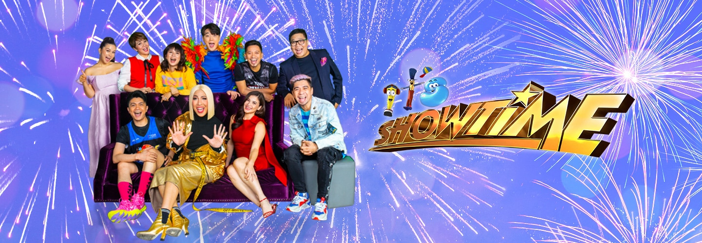 Aura fever, damang dama sa It's Showtime