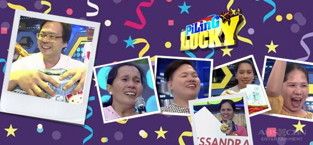 "Memorable winning moments of It's Showtime's ""PiLing Lucky"" contestants"