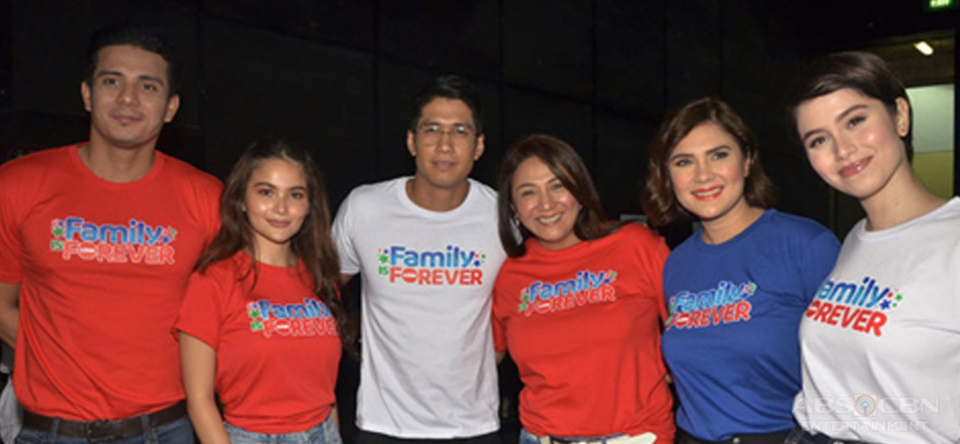 PHOTOS: Sandugo cast showcases spirit of togetherness in Family Is Forever Christmas Station ID