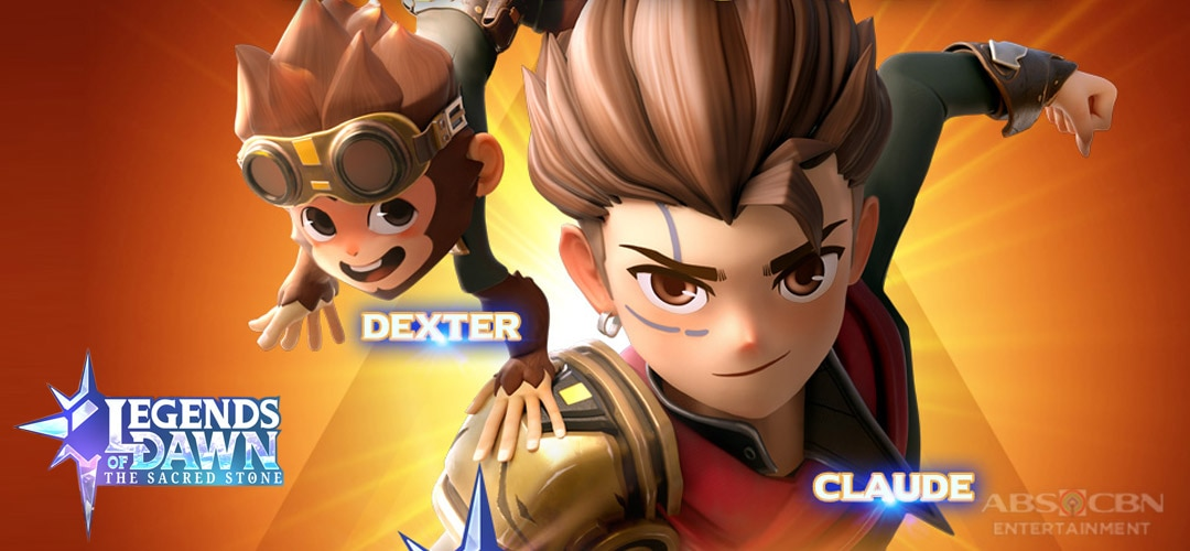 """Hail, the """"King of Thieves,"""" Claude and his trusty Dexter on Legends of Dawn: The Sacred Stone!"""