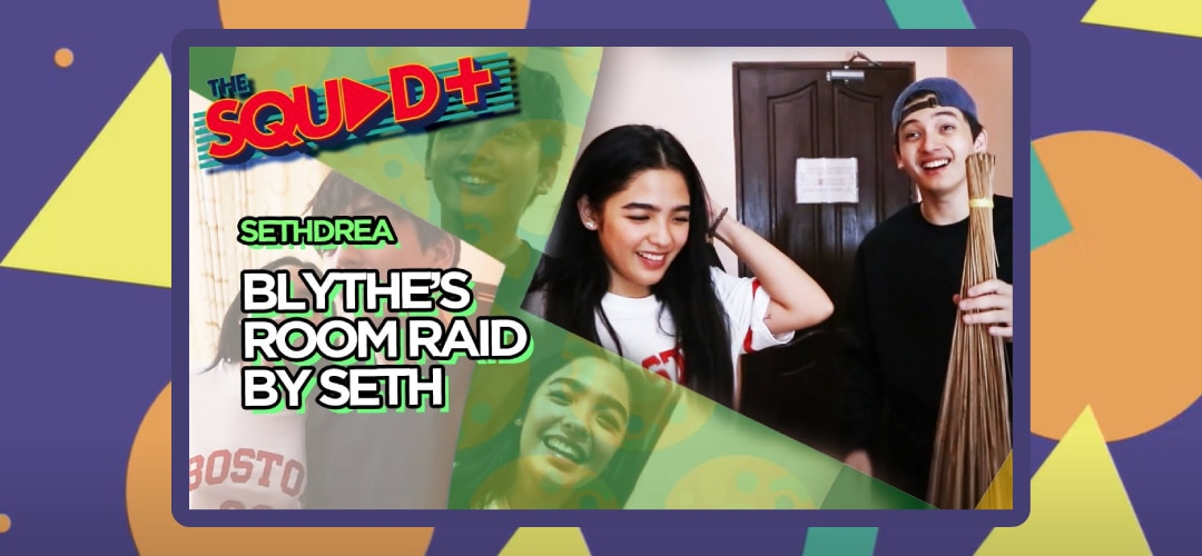 WATCH: Andrea's Room Raid with Seth   The Squad+