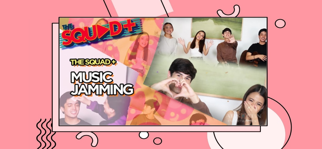 WATCH: Music Jamming with Angela, Andi, Kobi and KD | The Squad+
